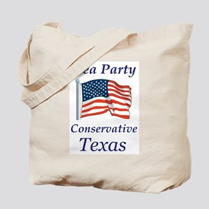 Tea Party Conservative Tote Bag