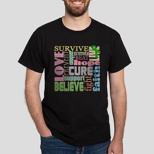 Brain Injury Awareness Dark T-Shirt