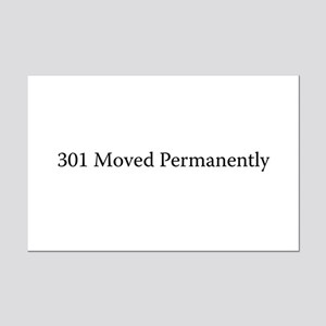 301 Moved Permanently Mini Poster Print