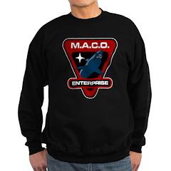 Enterprise MACO (large) Sweatshirt (dark)