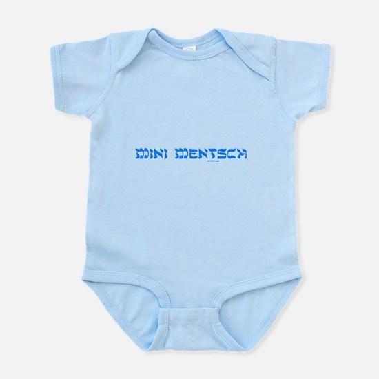 Mini Mentsch Jewish Infant Bodysuit