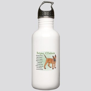 Belgian Malinois Stainless Water Bottle 1.0L