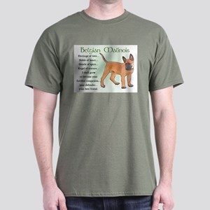 Belgian Malinois Dark T-Shirt
