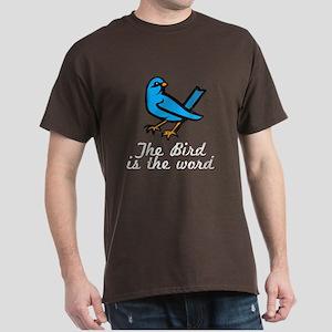 Bird is the Word Dark T-Shirt