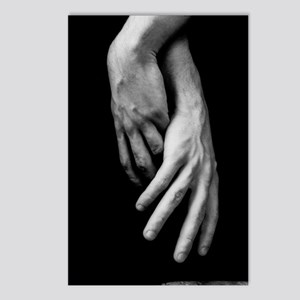 Hands Intertwined Postcards (Package of 8)