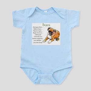 Boxer Puppy Infant Bodysuit