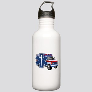 EMS Ambulance Stainless Water Bottle 1.0L