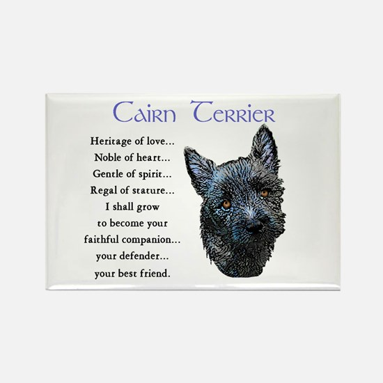 Cairn Terrier Rectangle Magnet (10 pack)