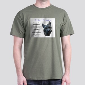 Cairn Terrier Dark T-Shirt