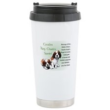 Cavalier King Charles Stainless Steel Travel Mug