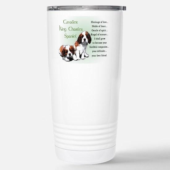 Cavalier King Charles Stainless Steel Travel Mug