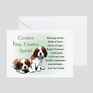 Cavalier King Charles Greeting Cards (Pk of 10)