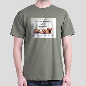 Shar-Pei Puppies Dark T-Shirt