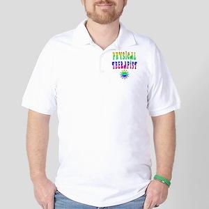 Physical Therapist - Tie Dye Golf Shirt