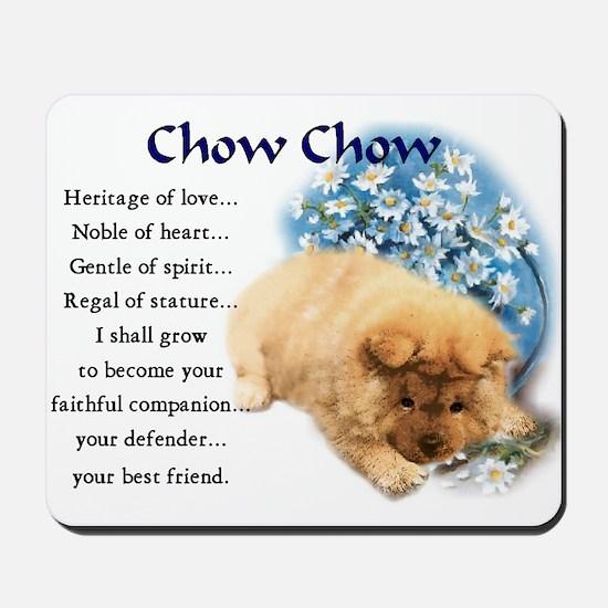 Chow Chow Mousepad