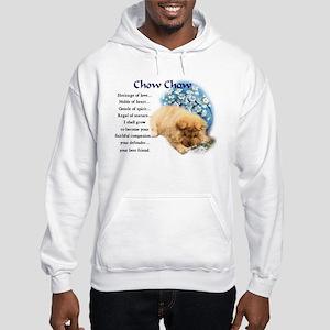 Chow Chow Hooded Sweatshirt