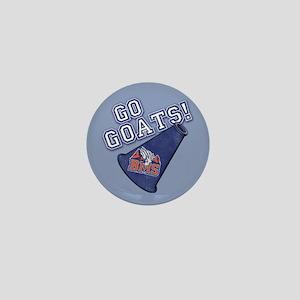 Go Goats Mini Button