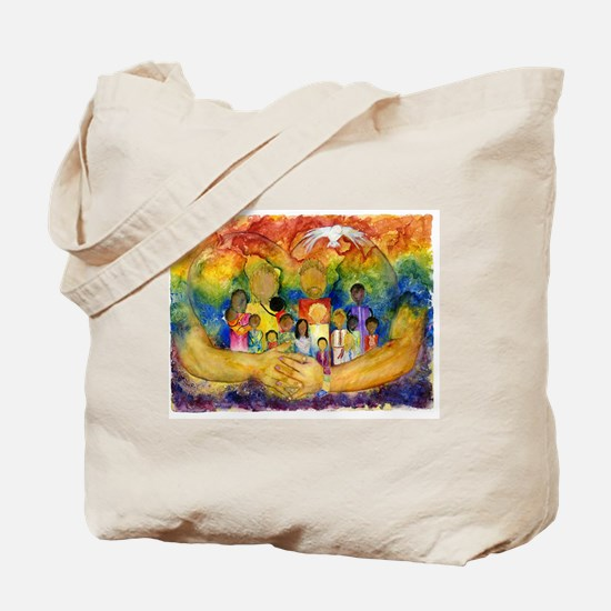 Born In His Heart Tote Bag