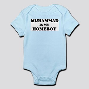 Muhammad Is My Homeboy Infant Creeper