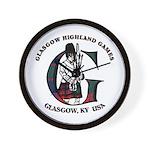 Glasgow Highland Games KY USA Wall Clock