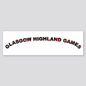Glasgow Highland Games KY USA Sticker (Bumper)