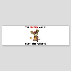 CAUTION PAYS Sticker (Bumper)