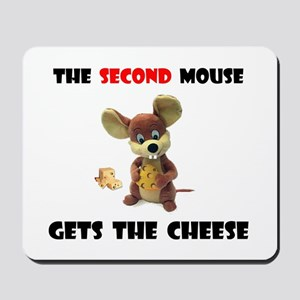 CAUTION PAYS Mousepad