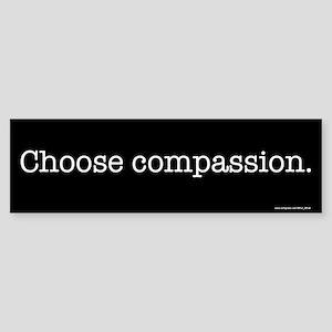 Choose Compassion Bumper