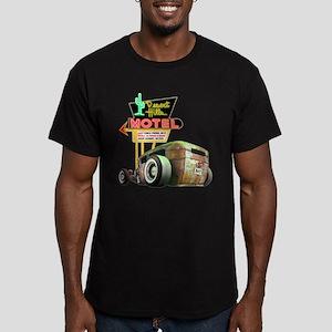 Desert Hills Rat Men's Fitted T-Shirt (dark)