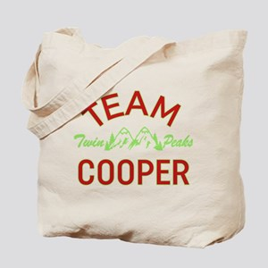 Twin Peaks Team Cooper Tote Bag
