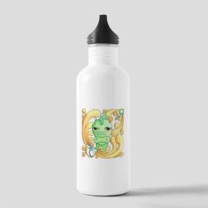 Framed Dragon Face Stainless Water Bottle 1.0L