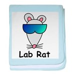 Lab Rat molecularshirts.com baby blanket