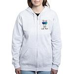 Lab Rat molecularshirts.com Women's Zip Hoodie
