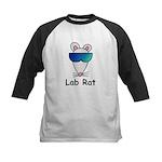 Lab Rat molecularshirts.com Kids Baseball Jersey