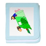 Beaker molecularshirts.com baby blanket