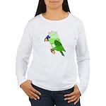 Beaker molecularshirts.com Women's Long Sleeve T-S