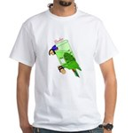 Beaker molecularshirts.com White T-Shirt