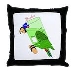 Beaker molecularshirts.com Throw Pillow