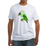 Beaker molecularshirts.com Fitted T-Shirt