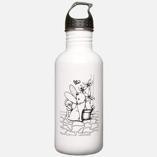 Wings and Orchids Water Bottle