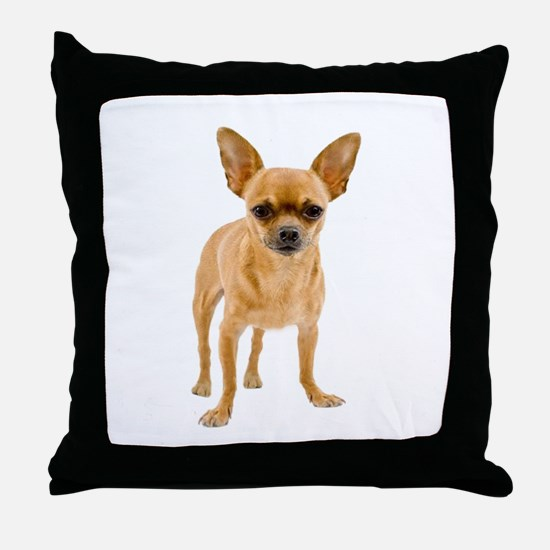 Chihuahua Stand Throw Pillow