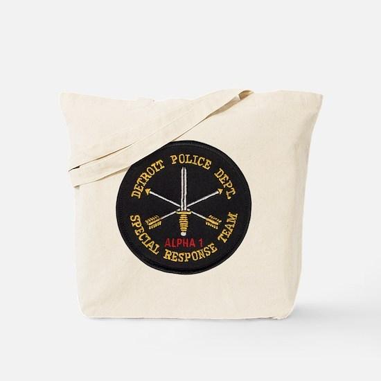 Detroit Police SRT Tote Bag