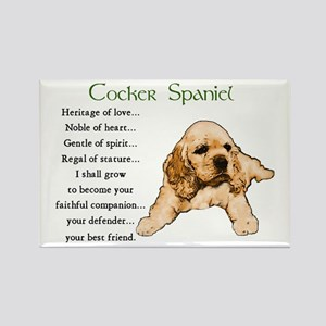 Cocker Spaniel Rectangle Magnet (10 pack)