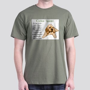 Cocker Spaniel Dark T-Shirt