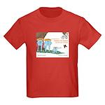 The Land of Shapes Kids Dark T-Shirt