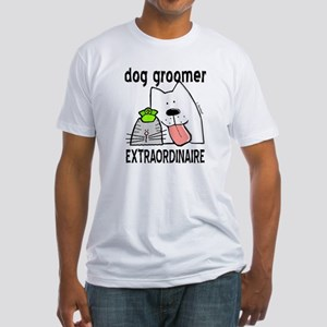 Pet Groomer Extraordinaire Fitted T-Shirt