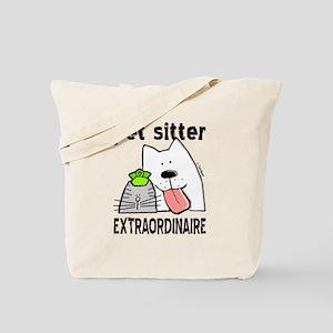 Pet Sitter Extraordinaire Tote Bag