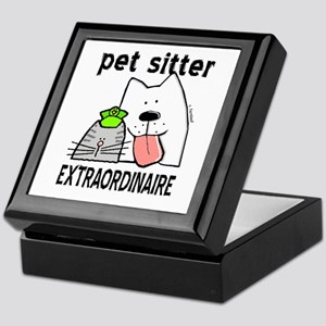 Pet Sitter Extraordinaire Keepsake Box