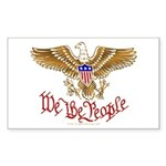 We the People Sticker (Rectangle 10 pk)