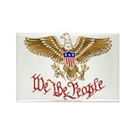 We the People Rectangle Magnet (100 pack)